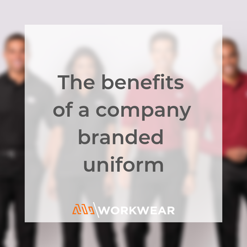 What are the benefits of a company branded uniform?