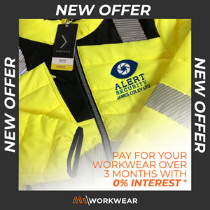 Three-month Payment Plan - MI Workwear Finance Offer - 01455 891 199